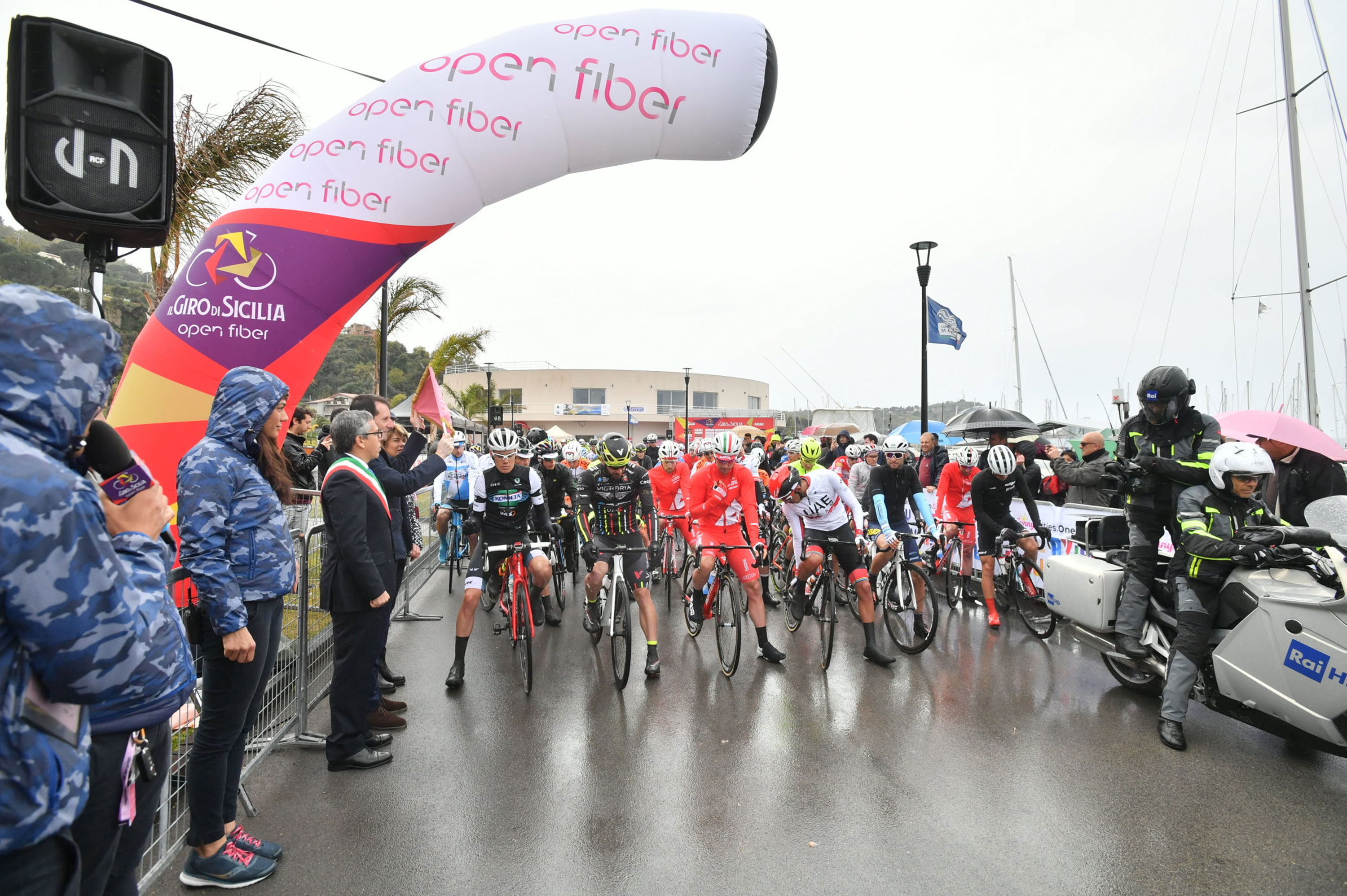 Capo d'Orlando to Palermo, 236km: Second stage of Il Giro di Sicilia Open Fiber