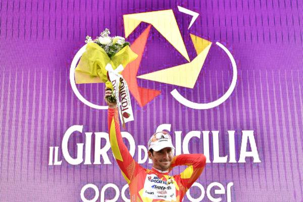 Foto LaPresse - Fabio Ferrari4 Aprile 2019 Palermo (Italia)Sport CiclismoIl Giro di Sicilia 2019 - Tappa 2 - Da Capo D'Orlando a Palermo - km 236Nella foto: BELLETTI Manuel (ITA) (ANDRONI GIOCATTOLI - SIDERMEC)  Photo LaPresse - Fabio FerrariApril 4, 2019 Palermo (Italy) Sport CyclingIl Giro di Sicilia - Stage 2 - From Capo D'Orlando to Palermo - 146,6 milesIn the pic: BELLETTI Manuel (ITA) (ANDRONI GIOCATTOLI - SIDERMEC)
