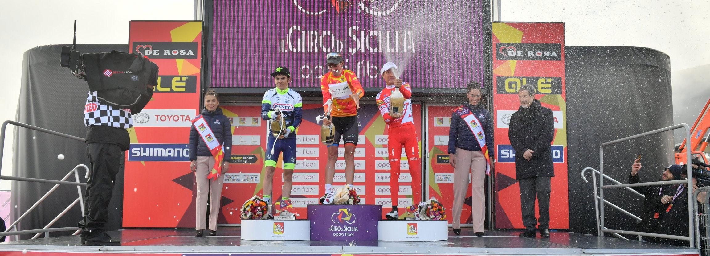 Brandon McNulty vince Il Giro di Sicilia Open Fiber 2019