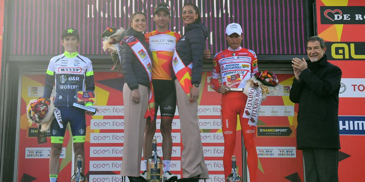 Dopo aver ottenuto la sua prima vittoria in carriera da professionista McNulty si aggiudica la Classifica Generale de Il Giro di Sicilia