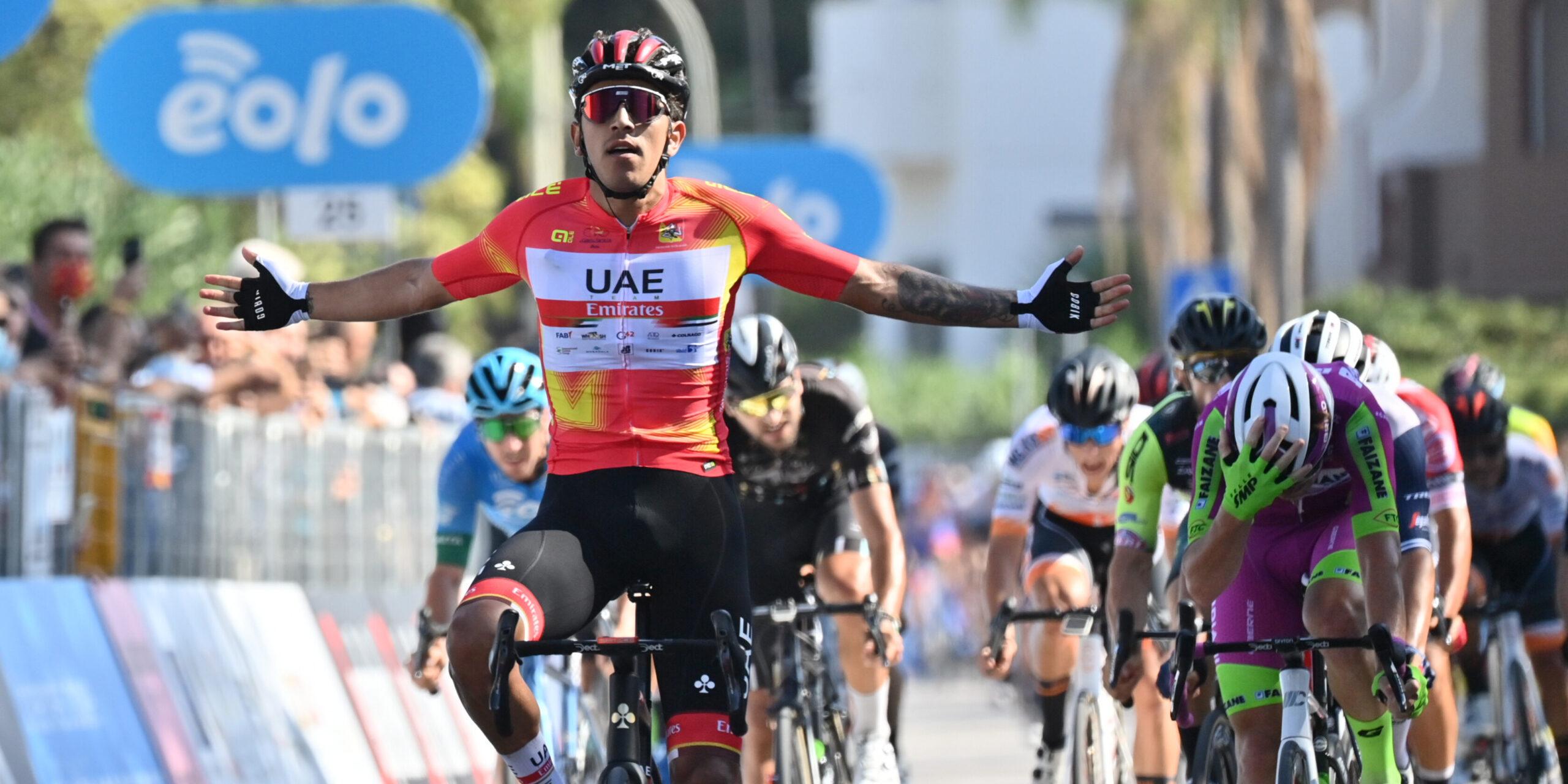 Juan Sebastian Molano Stage 2 Il Giro di Sicilia Tappa 2