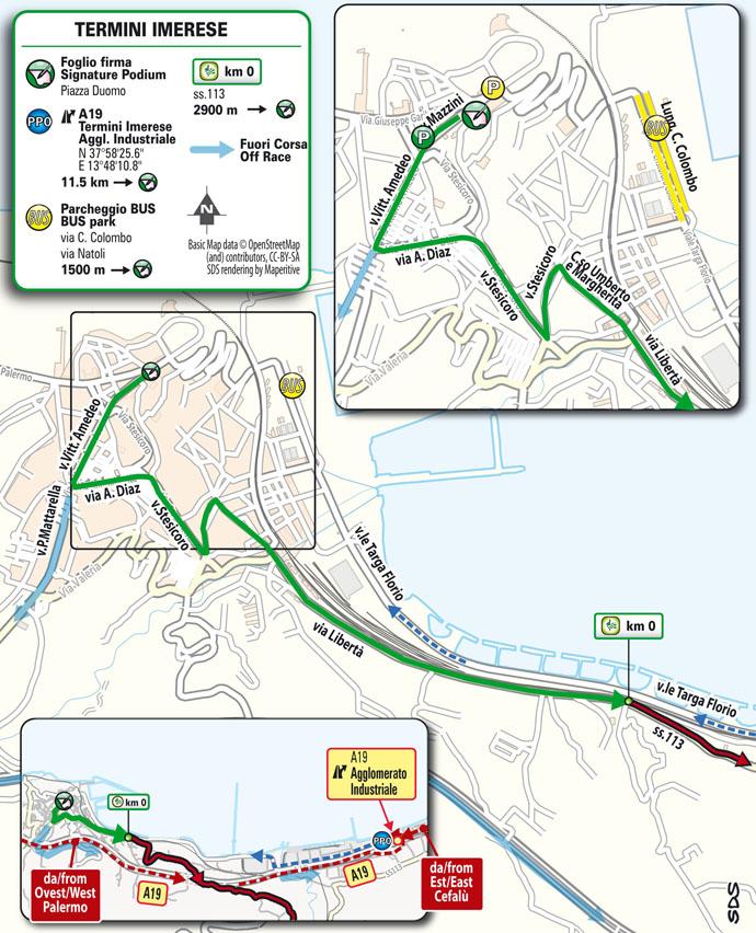 Tappa 3 de Il Giro di Sicilia 2021: Selinunte (Castelvetrano), Mondello (Palermo) stage 3
